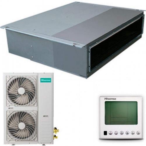 Канальный кондиционер Hisense AUD-12HX4SNL / AUW-12H4SV